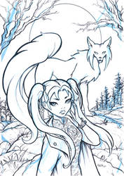 Fox Spirit - Ozalee