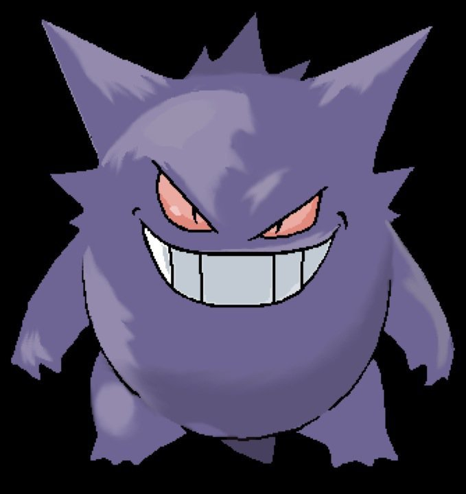 Gengar the shadow Pokemon by GengarGrin on DeviantArt