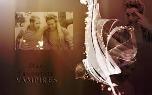 Rob Pattinson and Kellan Lutz by lostgab