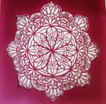 Paper Mandala by nintaa