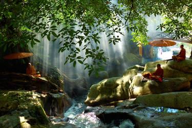 Meditation III by esee