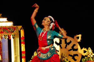 Indian Dance I by esee