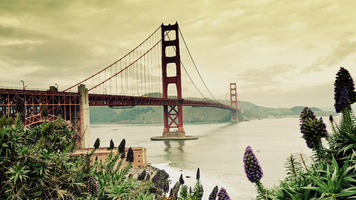 Golden Gate Bridge I by esee