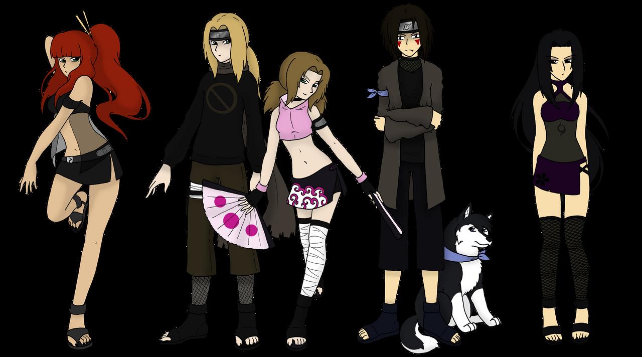 Naruto Next-Gen OCs by Dorchette on DeviantArt