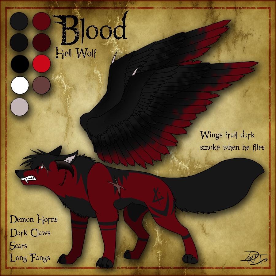 hell wolf by vampireassassin1444 - photo #13