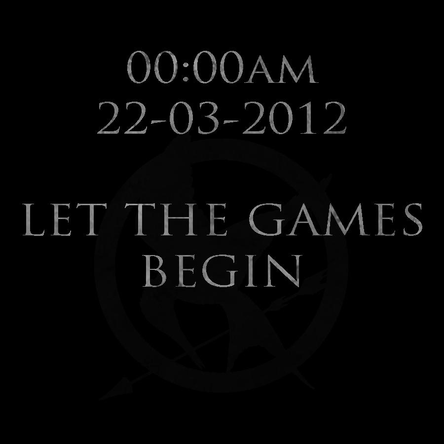 LET THE GAMES BEGIN by Dorchette