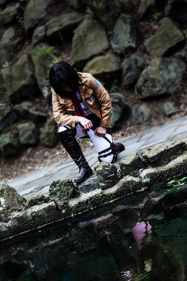 Mikasa Ackerman - Reflection by Dorchette