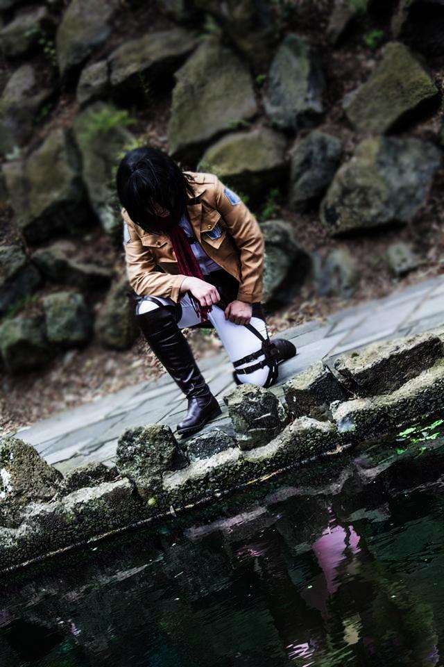 Mikasa Ackerman - Reflection by Dorchette