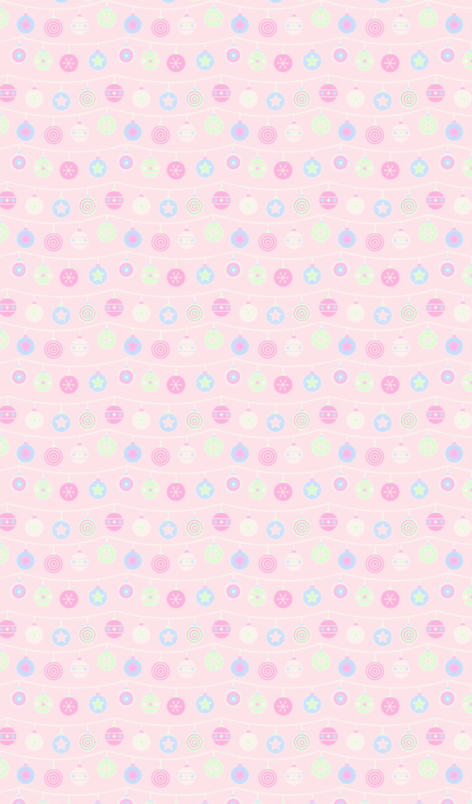 Kawaii Christmas Decoration Background by Cherry-Fizzle on DeviantArt