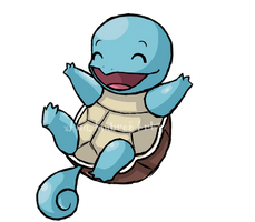 Squirtle by AnaPunda