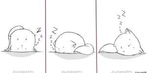 Fat Cat No. One : Sleeping