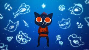 Night in The Woods by AnaPunda