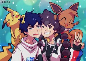 Pokemon GOTCHA (fan art)