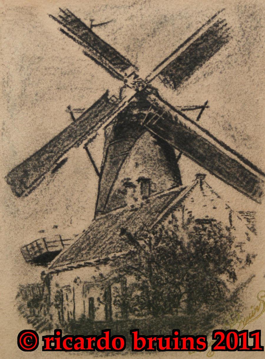 windmill tattoo. Black Bedroom Furniture Sets. Home Design Ideas