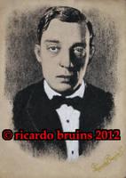 buster keaton by ricardo-bruins