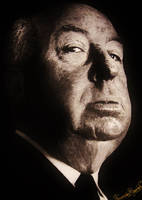 alfred hitchcock by ricardo-bruins