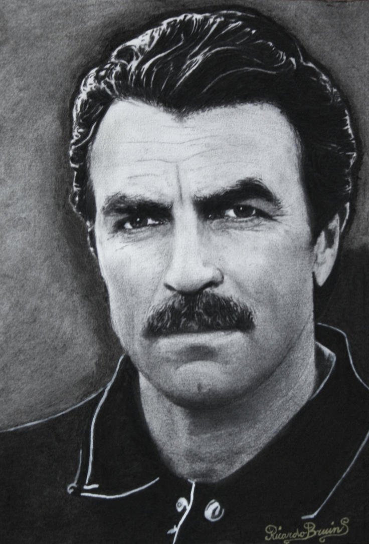 TOM SELLECK MAGNUM P.I by ricardo-bruins
