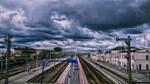 Train station by MrBeholder