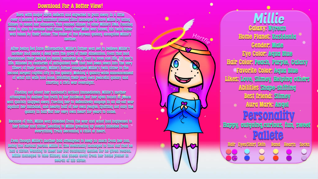 OC: Millie (MiniMe) [Download for better View!] by Hartfie on DeviantArt