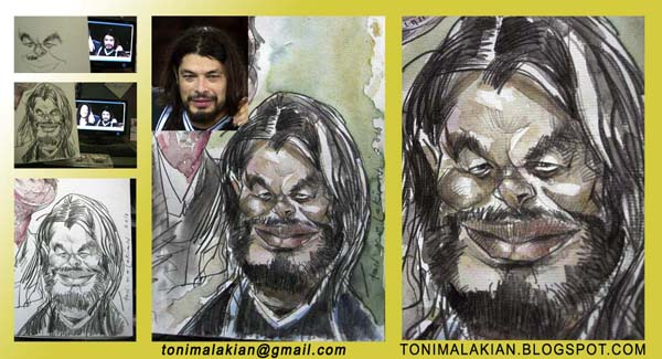 Robert Trujillo, Metallica by tonykartun