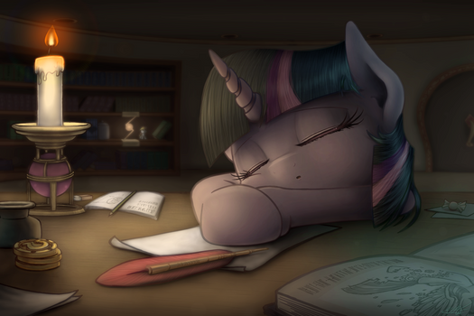 mylittlepony sleeping twilight sparkle
