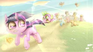 my little pony S1E3 twilight spike