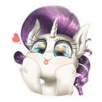 my little pony art kawaii cute rarity
