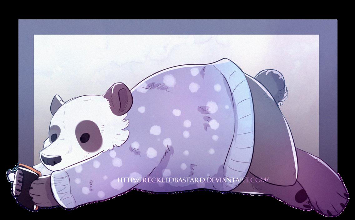 Panda by FreckledBastard