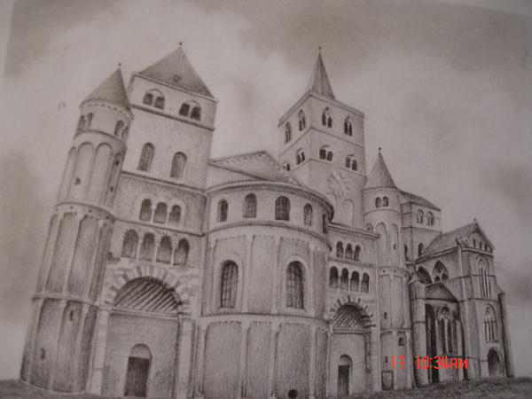 romanesque architecture drawing romanesque architecture by