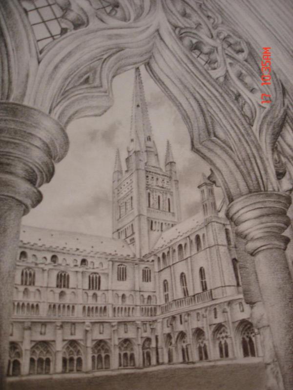 Romanesque Architecture 2 by cessie23