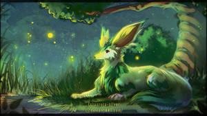 <b>Noishe - Fireflies</b><br><i>Aurora-Silver</i>