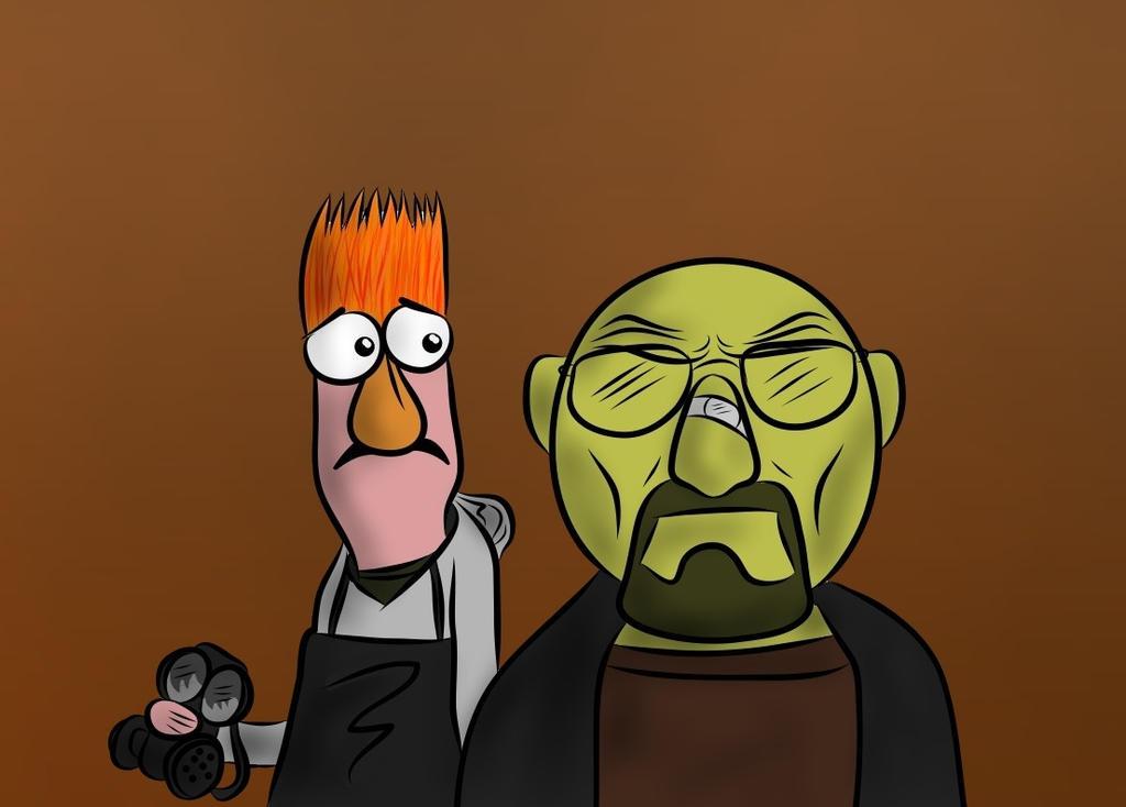 breaking bad muppet -#main
