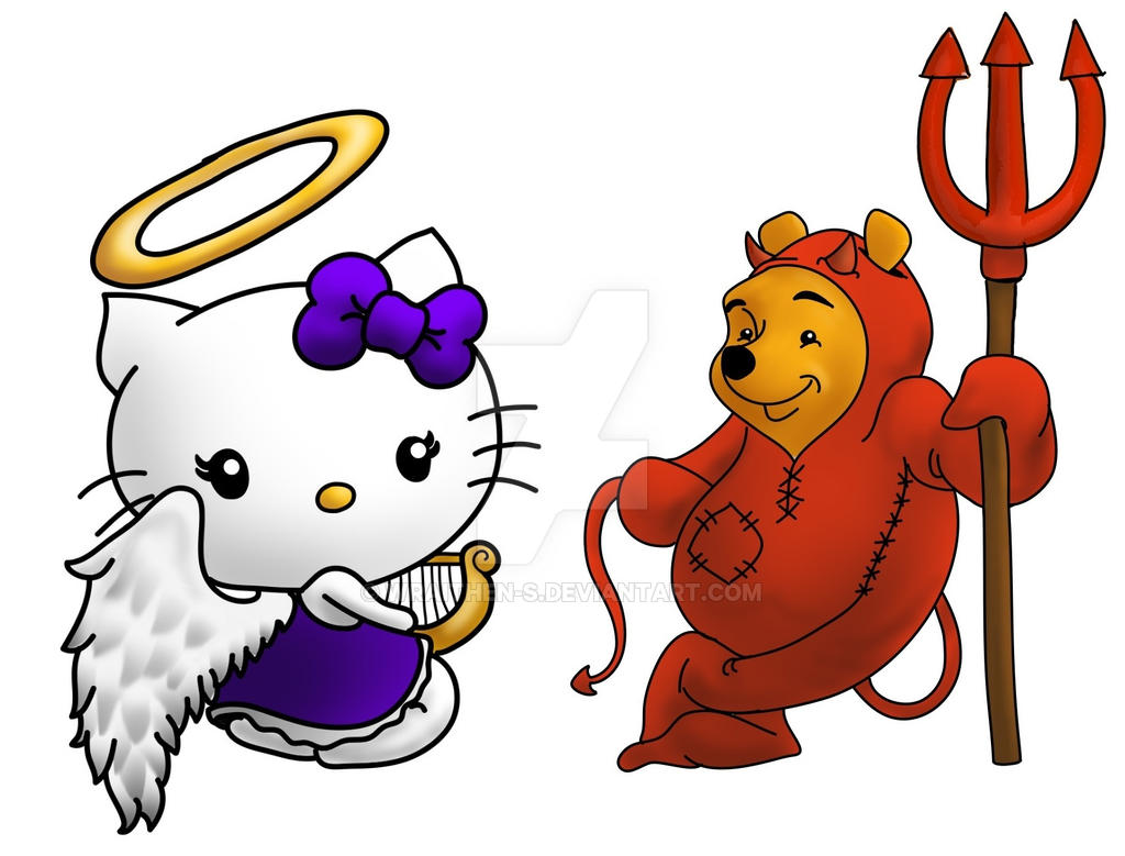 Popular Wallpaper Hello Kitty Angel - angel_kitty_and_devil_bear_by_wraithen_s-d6911mh  Perfect Image Reference_639218.jpg