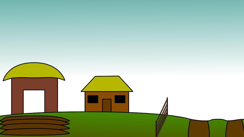 Farm Scene V2 by StrangelyTired