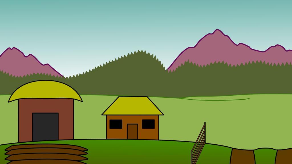 Farm Scene V3 by StrangelyTired