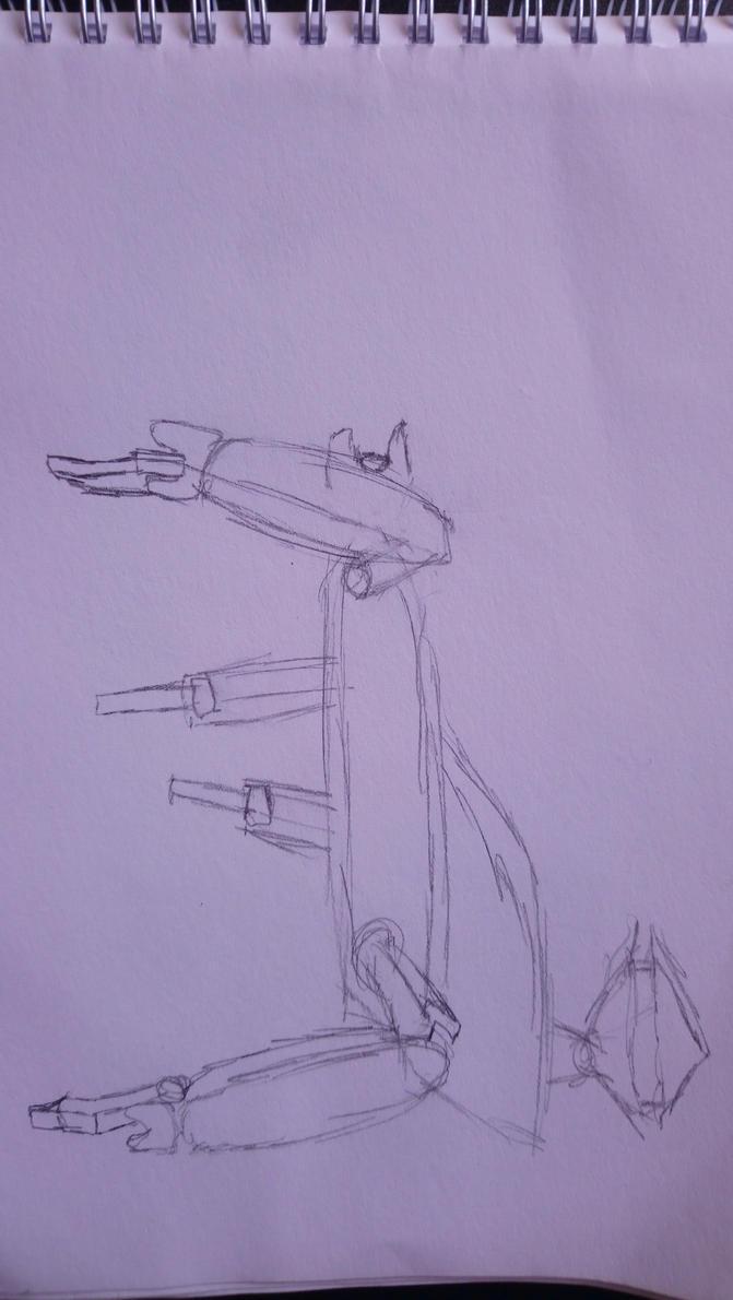 Halo Scarab by StrangelyTired