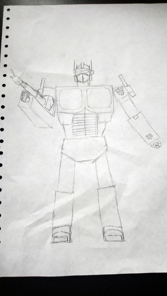 G-1 Optimus Prime by StrangelyTired