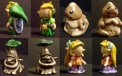 Zelda Chess Set - Characters 1