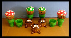 Sweets - Mushrooms and Goombas