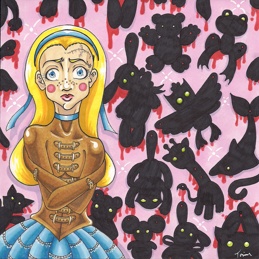 Alice - Never Alone by Tomo-Chi