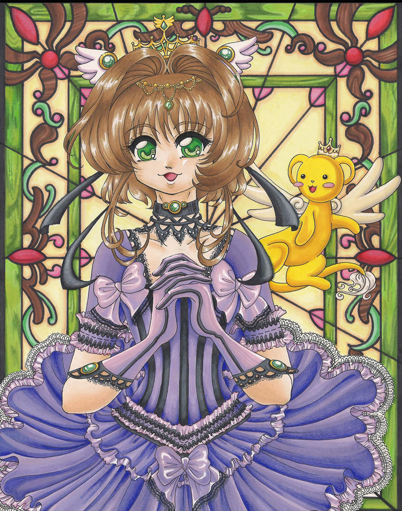 Card Captor Sakura - Commission by tomo-chi