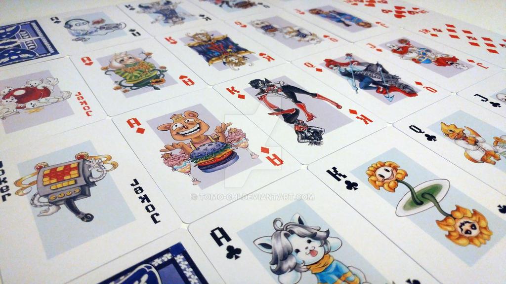 Undertale - Poker Cards (Full Deck) by Tomo-Chi on DeviantArt