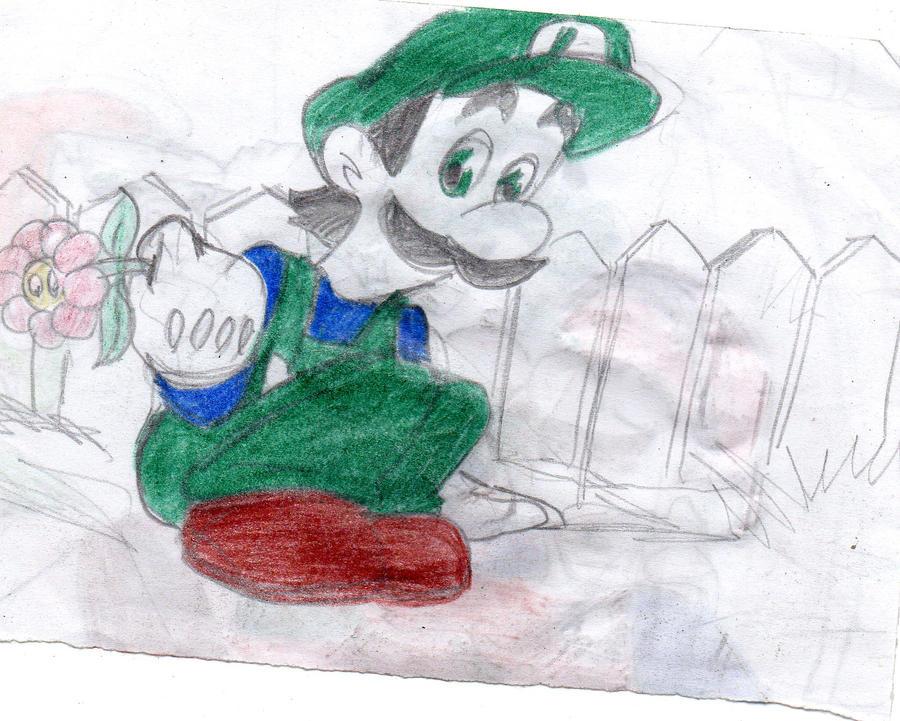 Super Mario Bros Super Show Luigi By Wildo123 On Deviantart