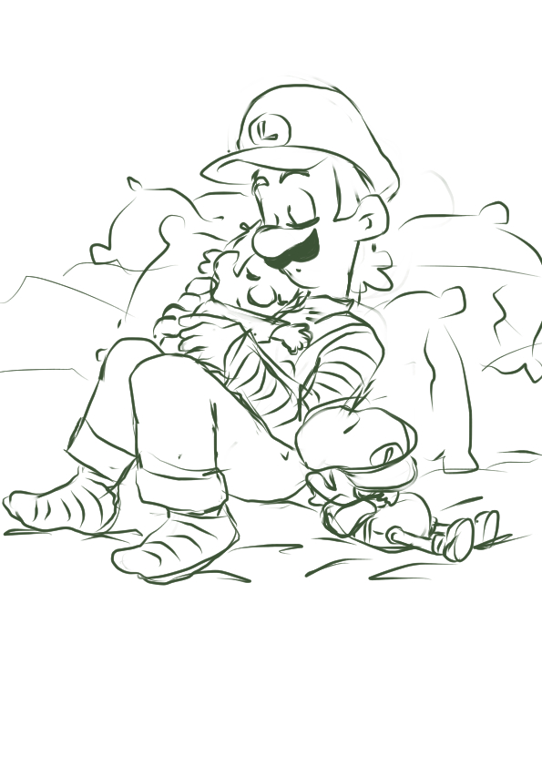 Luigi baby Mario and Baby Luigi by wildo123 on DeviantArt