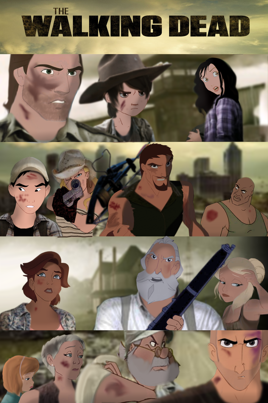 The Walking Dead Animated-Part 1 by mirandaareli