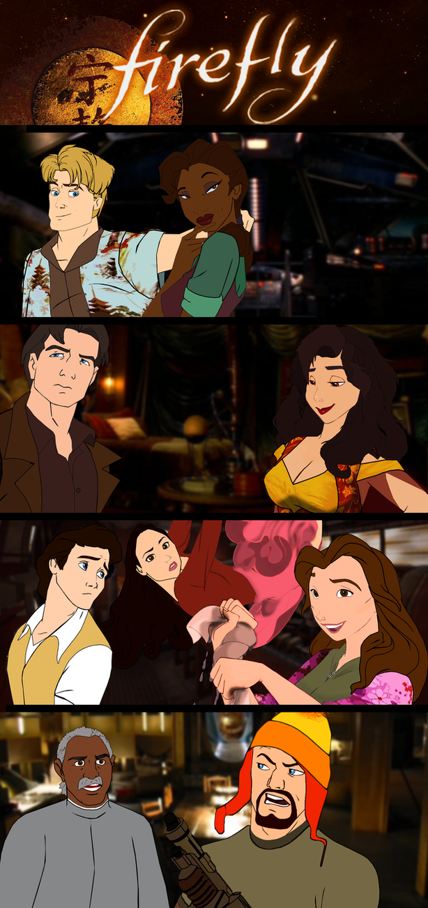 Firefly's Big Damn Heroes by mirandaareli