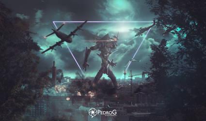 This war is mine - Evangelion by Trunks-Z