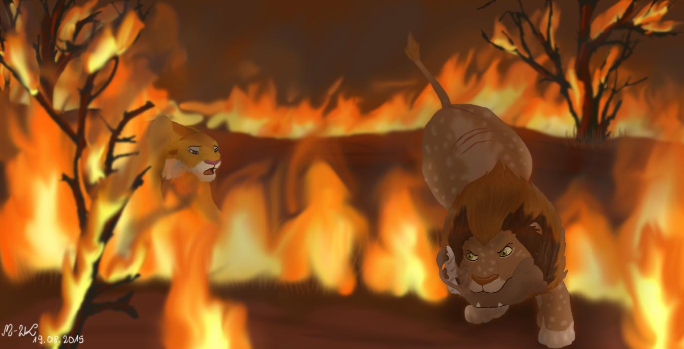 Tragic fire part 2 by M-WingedLioness on DeviantArt