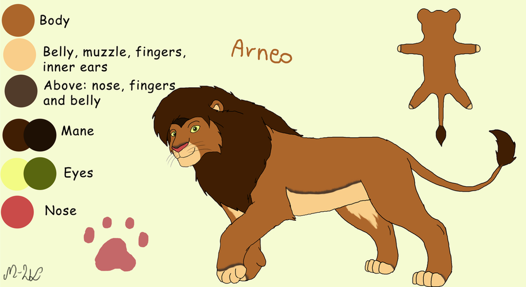 Arneo - new reference by M-WingedLioness