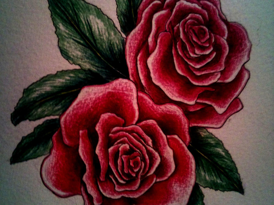 Cool Rose Designs to Draw Rose Tattoo Design Drawing by